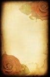 De kaart van de Valentijnskaart van Grunge Royalty-vrije Stock Foto's