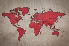 De Kaart van de wereld, de achtergrond van de Wereld Royalty-vrije Stock Foto