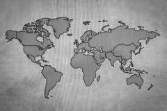 De Kaart van de wereld, de achtergrond van de Wereld Royalty-vrije Stock Foto's
