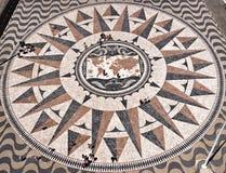 De Kaart van de Wereld van het mozaïek Stock Afbeeldingen