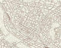 De kaart van Grunge vector illustratie
