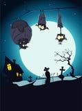 De kaart van Halloween Vector Illustratie