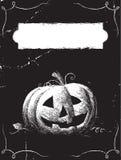 De kaart van Halloween Royalty-vrije Stock Afbeelding