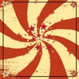De kaart van het circus Stock Afbeelding