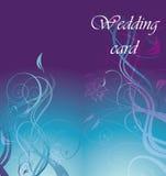 De kaart van het huwelijk Royalty-vrije Stock Foto's