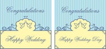 De kaart van het huwelijk Royalty-vrije Stock Fotografie