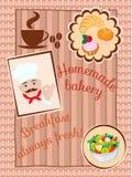 De Kaart van het koffiemenu Stock Foto's