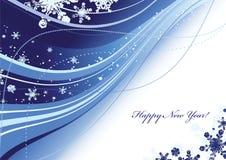 De kaart van het nieuwjaar Royalty-vrije Stock Afbeelding