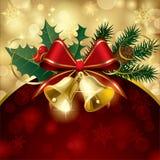 De kaart van Kerstmis Royalty-vrije Stock Afbeeldingen