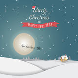 De kaart van Kerstmis stock illustratie