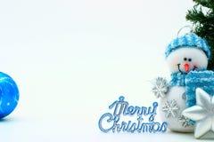 De kaart van Kerstmis Stock Afbeelding