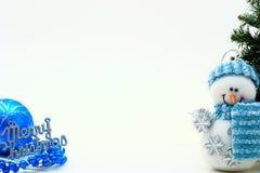 De kaart van Kerstmis Stock Afbeeldingen