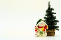 De kaart van Kerstmis Stock Foto's