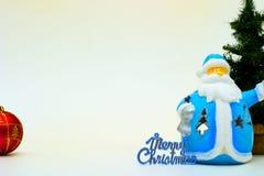 De kaart van Kerstmis Stock Foto