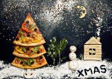 De kaart van Kerstmis. Naturmort Royalty-vrije Stock Foto