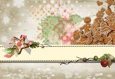 De Kaart van Kerstmis No4 Stock Afbeeldingen