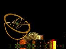 De Kaart van Kerstmis, vakantie royalty-vrije illustratie