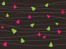 De kaart van Kerstmisgroeten Royalty-vrije Stock Foto's