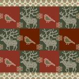 De Kaart van de Kerstmisuitnodiging Vector illustratie Stock Foto