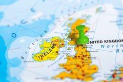 De Kaart Van Newcastle Schotland Stock Afbeelding Afbeelding