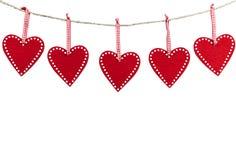 De kaart van de valentijnskaart Het frame van het hart Romantisch decoratieelement voor Moedersdag Rood nam toe de dag van vrouwe stock afbeeldingen