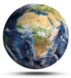 De kaart van de wereld het 3d teruggeven Royalty-vrije Stock Foto's
