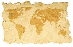 De kaart van Word Royalty-vrije Stock Fotografie