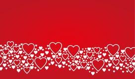 De kaartachtergrond van de valentijnskaartendag Royalty-vrije Stock Foto