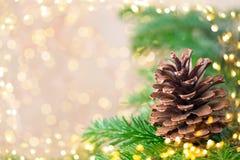 De kaartachtergronden van de Kerstmisgroet royalty-vrije stock foto