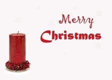 De kaartbeeld van de Kerstmisgroet Royalty-vrije Stock Foto's