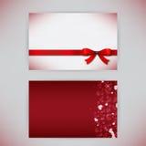 De kaarten van de gift Stock Afbeelding