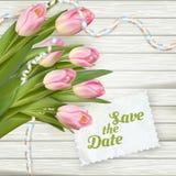 De kaarten van de huwelijksuitnodiging Eps 10 Royalty-vrije Stock Foto's