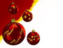De kaarten van de Kerstmisgroet Stock Afbeeldingen