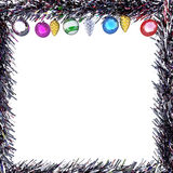 De kaarten van de Kerstmisgroet van het conceptenkader Royalty-vrije Stock Foto