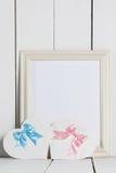 De Kaarten van de valentijnskaartendag Stock Foto's