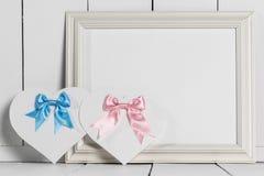 De Kaarten van de valentijnskaartendag Stock Fotografie