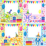 De kaarten van de verjaardag Royalty-vrije Stock Fotografie