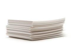De kaarten van het document Stock Afbeeldingen