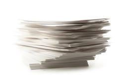 De kaarten van het document Royalty-vrije Stock Fotografie