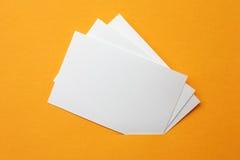 De kaarten van het document Royalty-vrije Stock Foto