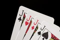 De Kaarten van het spel stock foto