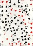 De kaarten van het spel royalty-vrije stock fotografie