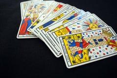 De kaarten van het tarot Stock Fotografie