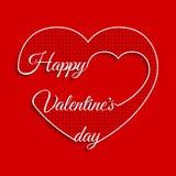 De Kaarten van de valentijnskaartendag Royalty-vrije Stock Foto