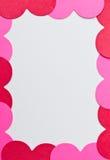 De kaartgrens van het hart Royalty-vrije Stock Afbeeldingen