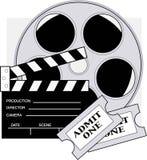De Kaartjes van de film Stock Foto's