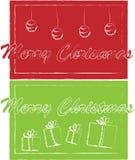 De kaartjes van Kerstmis Royalty-vrije Stock Fotografie