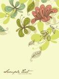 De kaartmalplaatje van de groet Royalty-vrije Stock Foto