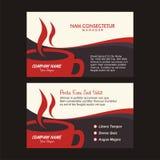 De kaartmalplaatje van de koffiehandelsnaam met nieuw ontwerp Stock Fotografie