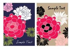 De kaartmalplaatjes van de groet Royalty-vrije Stock Fotografie